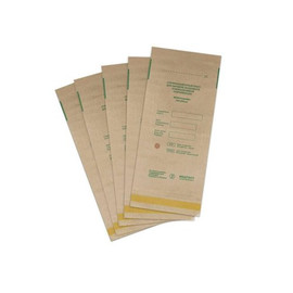 Крафт-пакет для стерелизации Медтест бумажный 115х200 мм 1 шт коричневый