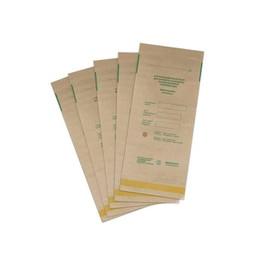 Крафт-пакет для стерелизации Медтест бумажный 100х200 мм 1 шт коричневый