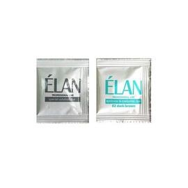 Краска для бровей ELAN № 2 темно-коричневая + окислитель
