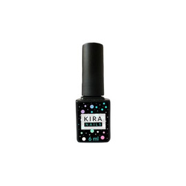 Kira Nails Wipe Top Coat, закрепитель для гель-лака с ЛЖ, 6 мл