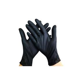 Перчатки медицинские нитриловые черные Medicom, размер L, 100 шт.