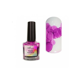 Акварельный флюид NailApex 10 пурпурный 5 мл