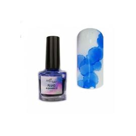 Акварельный флюид NailApex 9, синий 5 мл