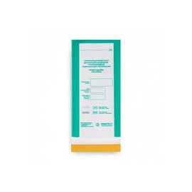 Крафт-пакет для стерелизации Медтест бумажный 60х100 мм 1 шт прозрачный