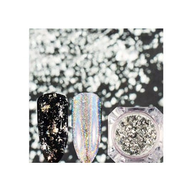 Хлопья Юки Галактика серебро