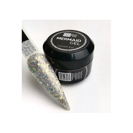 Глиттер-гель Andi PROF мармейд №02 темное серебро 5 мл