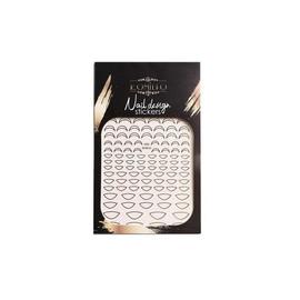 Наклейка Komilfo Nail Design Sticker №G001