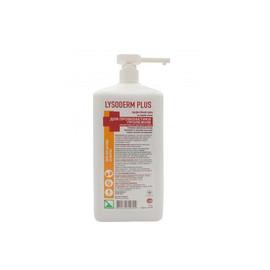 Крем для кожи рук и тела Lysoderm plus Лизодерм плюс антибактериальный 1000 мл