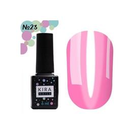 Гель-лак Kira Nails Vitrage №23 фуксия 6 мл