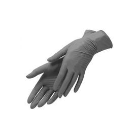 Перчатки нитриловые черные UNEX размер S 100 шт