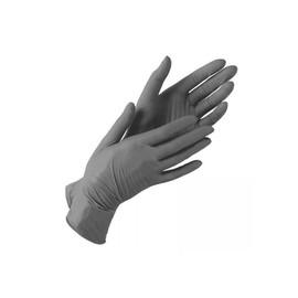 Перчатки нитриловые черные размер XS 10 шт 5 пар
