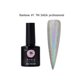 Гель-лак Saga Rainbow №01 8 мл