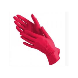 Перчатки нитриловые Prestige Medical размер XS красные 100 шт