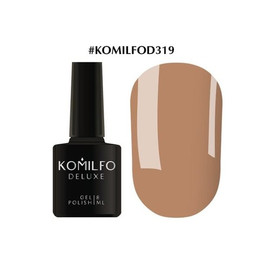 Гель-лак Komilfo Deluxe Series №D319 какао эмаль 8 мл
