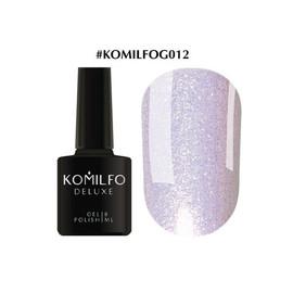 Гель-лак Komilfo DeLuxe Series №G012 жемчужный белый микроблеск 8 мл