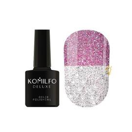 Гель лак светоотражающий Komilfo LUMINOUS FLASH COLLECTION L004 розовый 8 мл