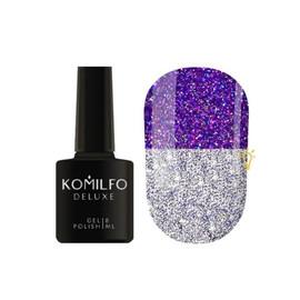 Гель лак светоотражающий Komilfo LUMINOUS FLASH COLLECTION L007 фиолетовый 8 мл