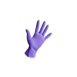 Перчатки нитриловые STYLE сиреневые S 100 шт