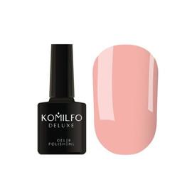 Гель лак Komilfo Macarons M001 пастельный бежево-розовый эмаль 8 мл