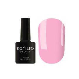 Гель лак Komilfo Macarons M002 пастельный розовый эмаль 8 мл