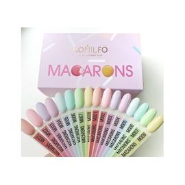 Набор гель лаков Komilfo Macarons 8 шт