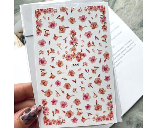 Наклейки для дизайна F 444 цветы