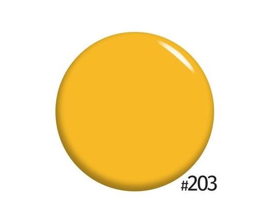 Гель-лак NUB  №203 Beach Sunrise солнечно-желтый эмаль 8 мл