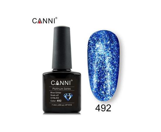 Гель-лак Canni Жидкая фольга №492 голубой 7.3 мл