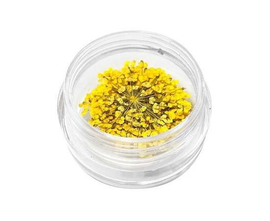 Декор для ногтей Сухоцветы № 5 желтый