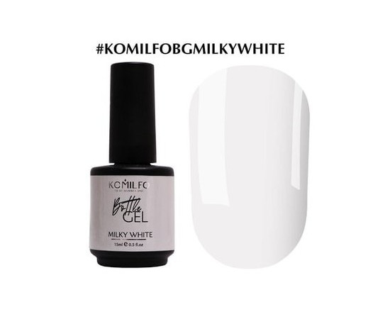 Гель Komilfo Bottle Gel Milky White 15 мл