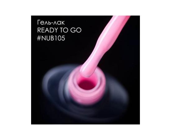 Гель-лак NUB № 105 READY TO GO (розовый), 8 мл