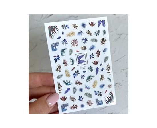 Наклейки для дизайна ногтей 017