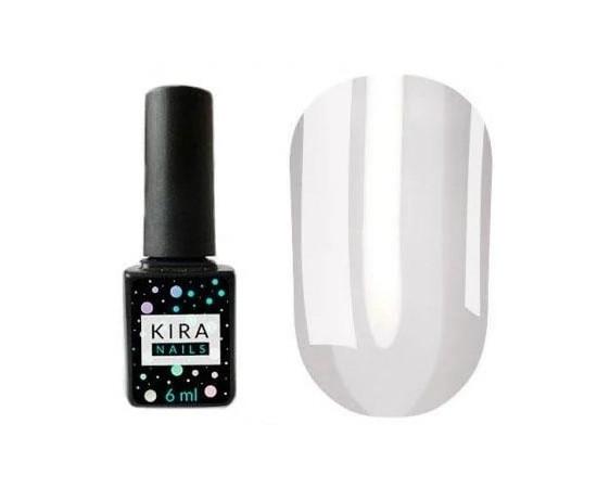 Гель-лак Kira Nails Vitrage №17 молочный 6 мл
