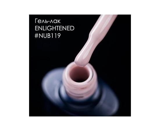 Гель-лак NUB № 119 Enlightened (нюдово-бежевый), 8 мл