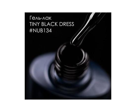 Гель-лак NUB № 134 Tiny Black Dress черный эмаль 8 мл
